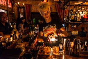 Highland Park Bar Scene- Los Angeles - March 31, 2015